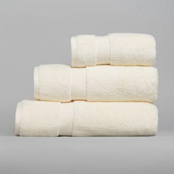 Serviette de bain ivoire