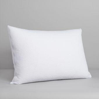 Protège oreiller molletonné